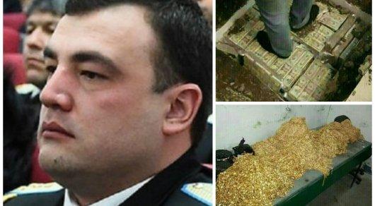 Мешки с золотом и долларами: СМИ опубликовали фото из тайника таджикского следователя