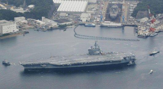 США направили третий авианосец в Тихий океан для сдерживания КНДР - СМИ