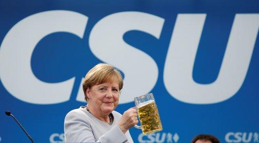 Европе пора брать судьбу в свои руки - Меркель