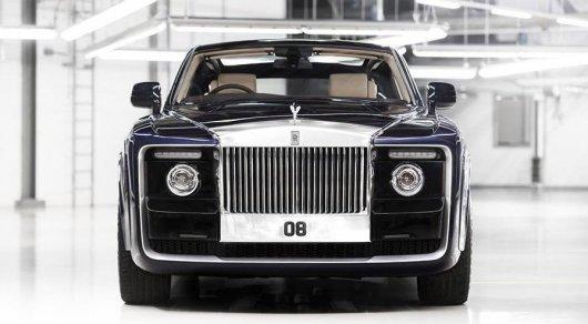 Rolls-Royce представил самый дорогой в мире автомобиль - СМИ