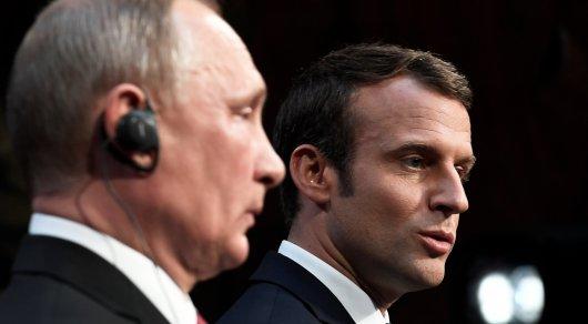 Корнейчук: встреча Путин-Макрон разделила мир насферы воздействия
