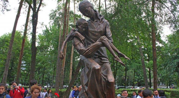 "Скульптура ""Ана"". Фото Шокан Алхабаев"