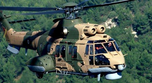 Военный вертолет с высокопоставленными офицерами разбился в Турции