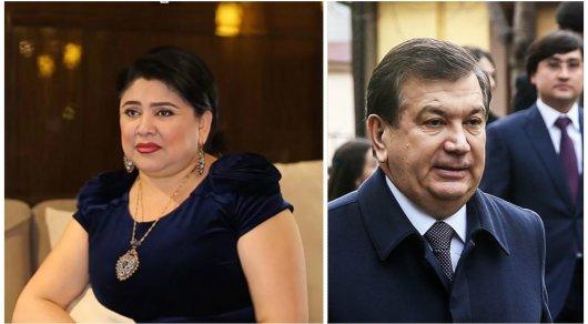Узбекская певица посвятила Шавкату Мирзиееву песню