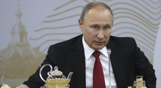 Путин вспомнил разговор с Клинтоном о вступлении России в НАТО