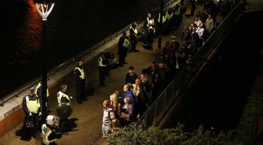 Встолице Англии произошли три инцидента спострадавшими— милиция
