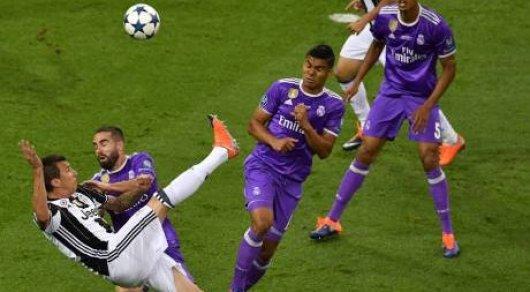 УЕФА выбрал ТОП-10 самых красивых голов прошедшей Лиги чемпионов