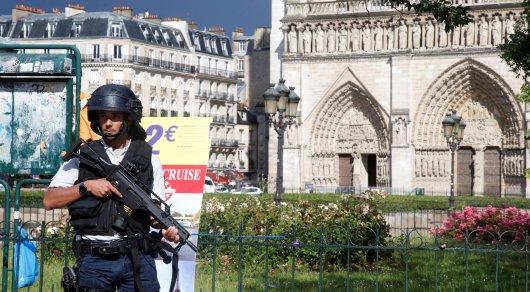 40-летний студент с молотком напал на полицейских в Париже