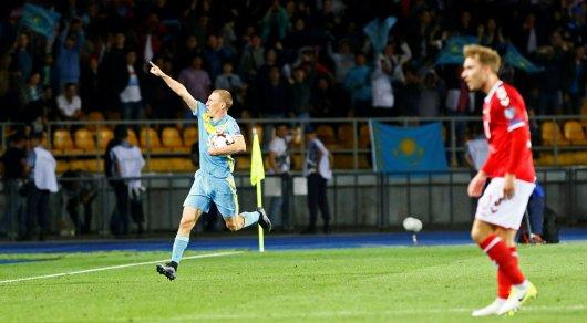 Удаление Исламхана, пенальти и гол Куата: Как сыграли сборная Казахстана и Дании