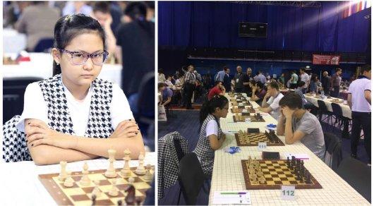 13-летняя шахматистка из Тараза показала результат, который никто не показывал