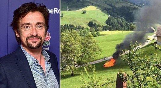 Экс-ведущий Top Gear попал в жуткую аварию