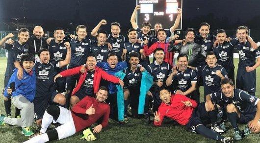 Сборная Казахстана по футболу среди артистов пробилась в финал ЧМ