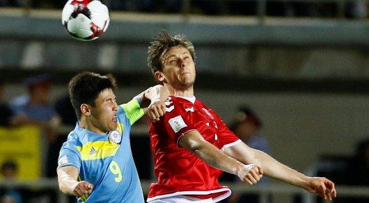 Игрок сборной Дании обозвал казахстанских футболистов за грубую игру