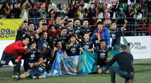 Сборная Казахстана по футболу среди артистов стала чемпионом мира