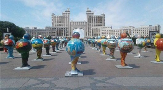 В МИД РК прокомментировали инцидент с картой России с изображением Крыма