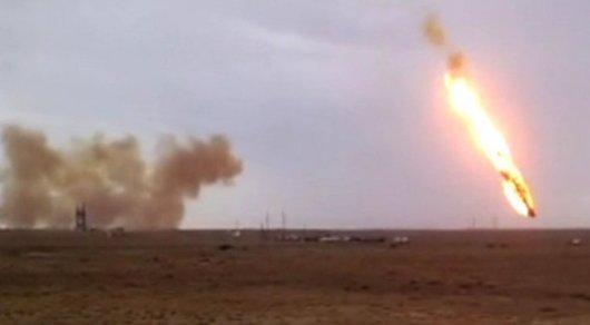Упавшая близ Жезказгана часть ракеты не содержит смертельный гептил