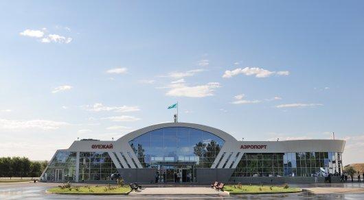 В аэропорту Талдыкоргана сгорел топливозаправщик