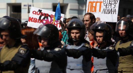 Охранять 5 тысяч участников гей-парада в Киеве будут 5 тысяч полицейских