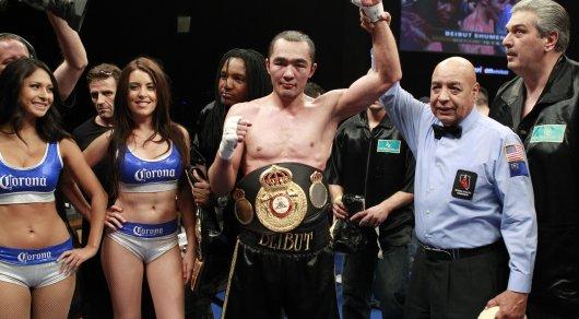 Бейбута Шуменова лишили чемпионского пояса WBA