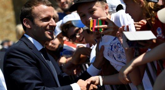 Партия Макрона победила на выборах во Франции