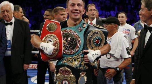 Головкин признан лучшим P4P-боксером в мире по версии HBO