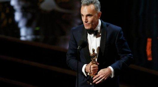 Трехкратный владелец «Оскара» артист Дэниел Дэй-Льюис завершил свою карьеру