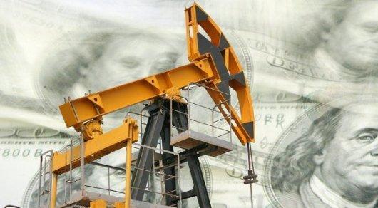 Цены на нефть упали ниже 45 долларов