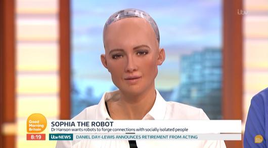Пожелавшая захватить мир робот София рассказала о своем идеальном мужчине