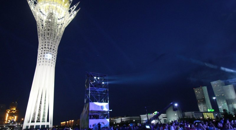 Steppe Scape погрузили в атмосферу магии гостей The Spirit of Astana