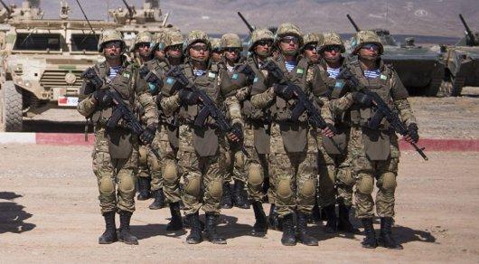Казахстанских военных предлагают отправить в Сирию
