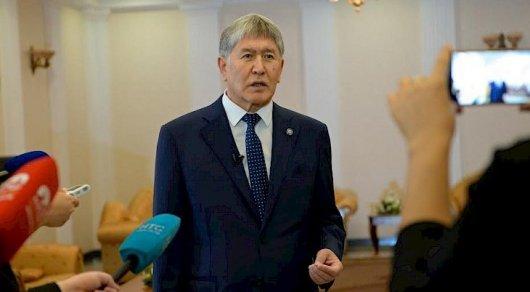 Атамбаев прокомментировал вопрос отправки кыргызских военных в Сирию