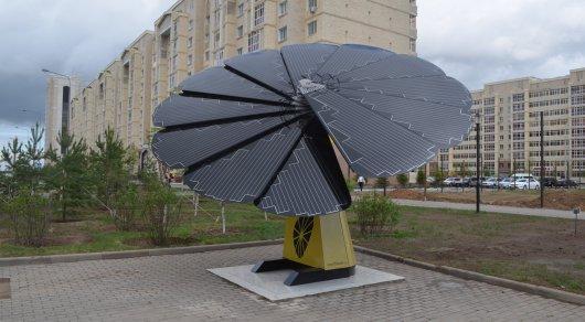 Что в Астане работает за счет солнечной энергии