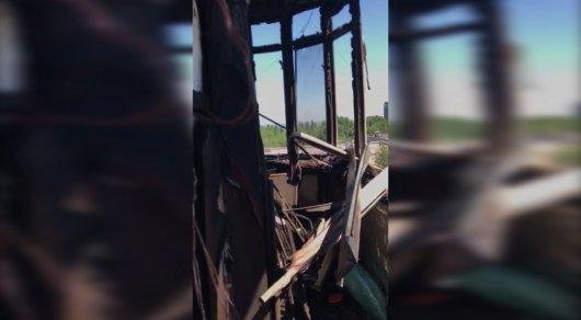 Пожар в 12-этажке в алматинском