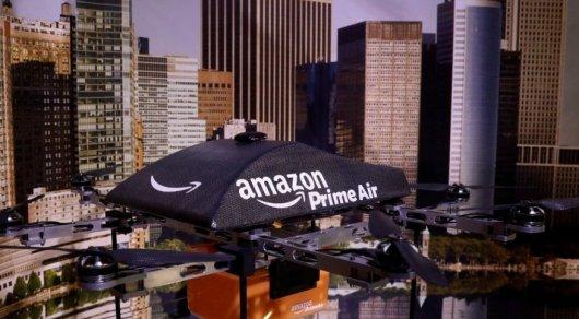 Amazon запатентовала многоуровневую парковку для дронов