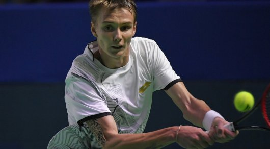 Казахстанский теннисист сыграет с первой ракеткой мира на