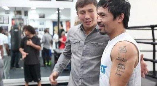 Мэнни Пакьяо высказался по поводу боя Головкин - Альварес