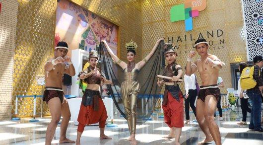 Как влюбиться в Таиланд. Муай-тай и другие зрелищные представления на EXPO-2017