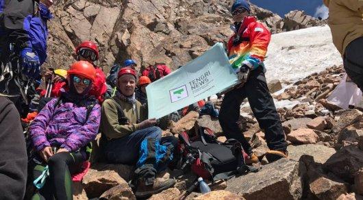 В Альпиниаде на пик Нурсултан приняли участие более 5 тысяч человек