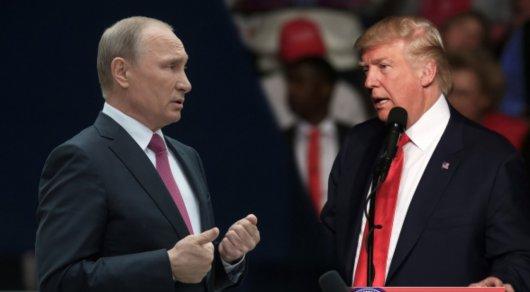 Навстрече с русским лидером Трамп хотелбы обсудить проблему Сирии