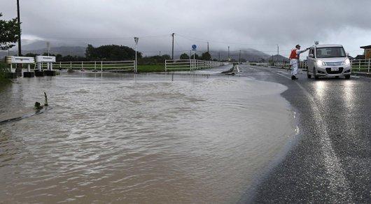 Из-за ливней в Японии пропали без вести более 20 человек