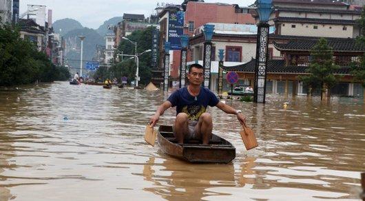 Более 40 человек погибли из-за наводнений на юго-востоке Китая