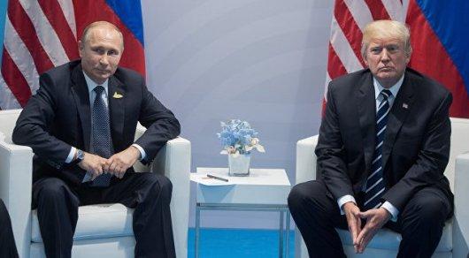 Трамп и Путин 40 минут обсуждали