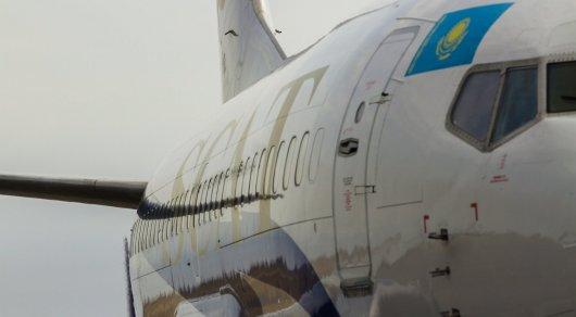 Из-за судорог у ребенка самолет авиакомпании SCAT вынужденно сел в Астане