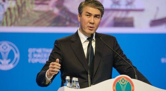 Исекешев предложил создать совет мэров городов-миллионников ШОС