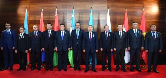 Назарбаев встретился с руководителями органов национальной безопасности стран СНГ