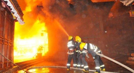 22 человека погибли при пожаре в жилом доме в Китае