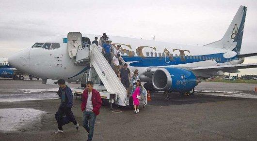 Авиакомпания SCAT принесла извинения возмущенным пассажирам