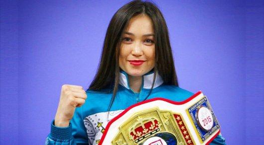 Девушка-боксер из Казахстана Балауса Муздиман готовится к дебютному бою в США