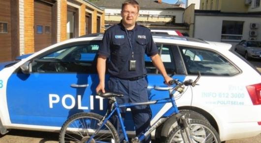 Эстонская милиция отыскала велосипед, украденный 14 лет назад