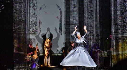 Иранский колорит. Группа NIYAZ представила удивительное 3D-шоу в рамках The Spirit of Tengri на EXPO-2017